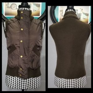 Cozy VTG Puffer Sweater Vest